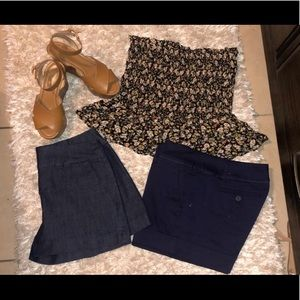 BUNDLE & SAVE MORE .! NWT&EUC Size M and Shorts0-2